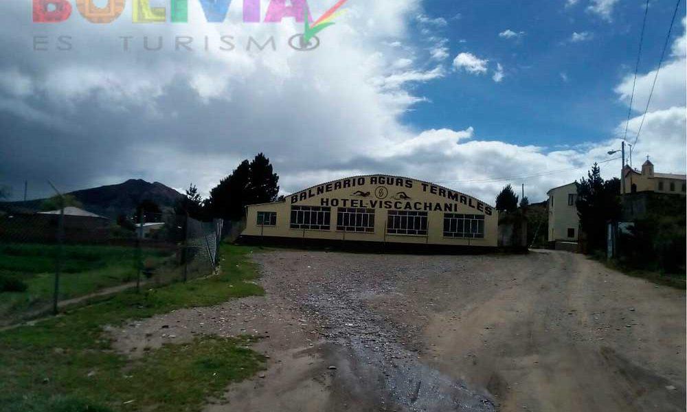 Viscachani hot springs - Pace