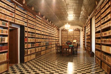 biblioteca-antigua-convento-san-francisco